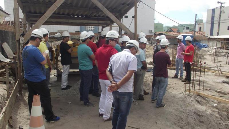 Visita Técnica na Construção Civil